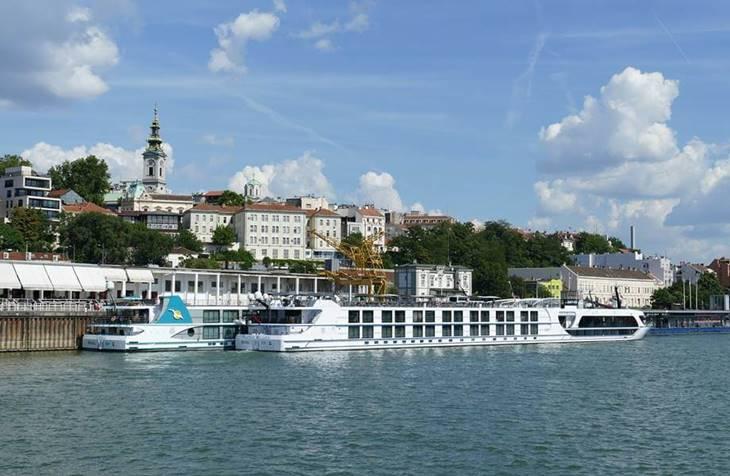 pogled na Beograd sa reka