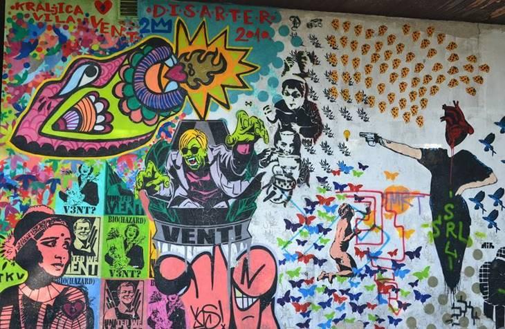 grafiti na beogradskim ulicama
