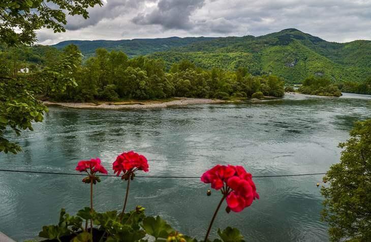 Pogled na reku Drinu