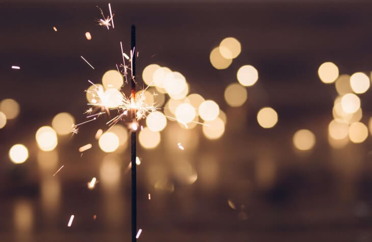 Prskalica za proslavu Nove godine