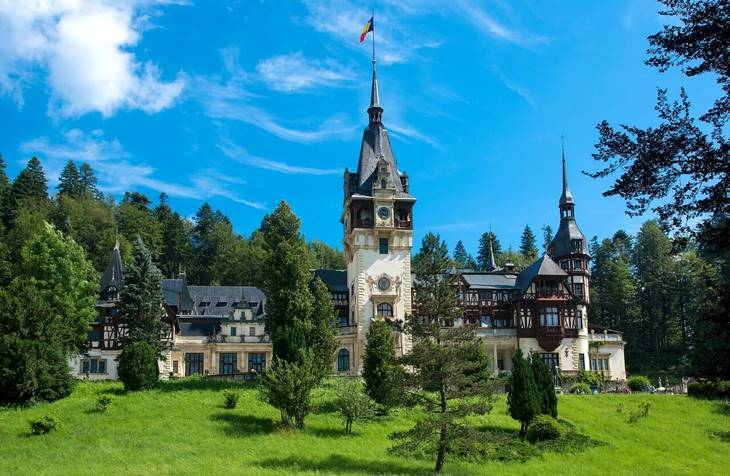 Zamak u Transilvaniji