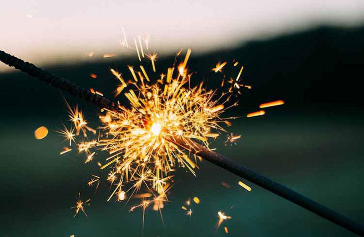 Prskalica za novu godinu