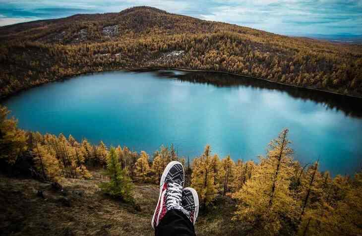 prikaz jezera sa vidikovca