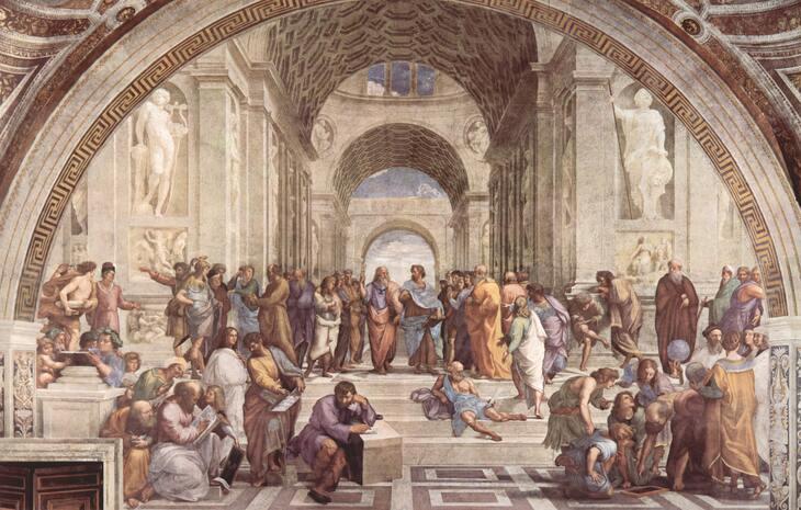 prikaz manastirske freske