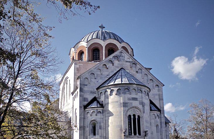 prikaz manastira Studenica